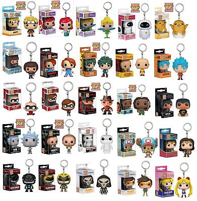 Keyring Bob Ross//Ariel//Arthas//Venom//Maleficent Figure Funko POP Pocket Keychain
