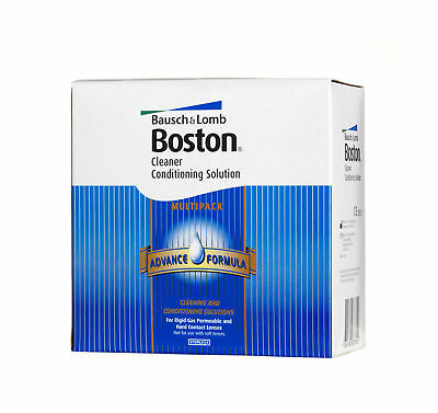 Bausch Lomb Boston Advance Hard RGP Contact Lens Solution Cleaner Conditioning