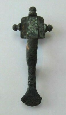 Collectable Saxon Small Long Type Brooch - Missing Pin - Possibly Repaired - 7cm