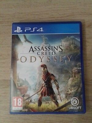 Playstation 4 PS4 Jeu Assassin's Creed Odyssey Comme NEUF