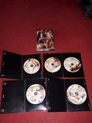 Indiana Jones - The Complete Collection (DVD, 2008, 5-Disc Set, Box Set)