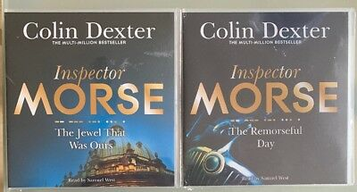 Inspector Morse Jewel That Was Ours/Remorseful Day 2 x Box CD's Colin Dexter New