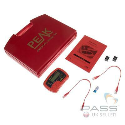 Peak Electronics Atlas UTP05 IT Network Cable Analyser for RJ45 CAT5, 5e and 6