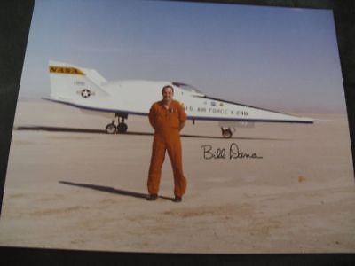PHOTO 20x25cm orig.signed NASA Pilot Tom McMurtry, SPACE