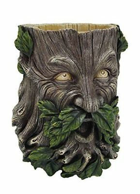 "Egift Garden Greenman Indoor Outdoor Wall Hanging Planter 8""h Figurine"