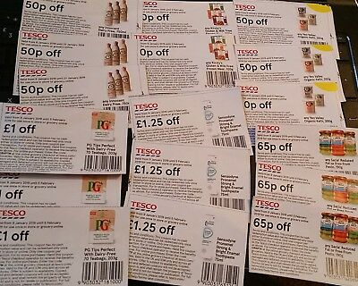 There are 15 voucher worth £12.30 of mixed genuine/ coupons  vouchers ,