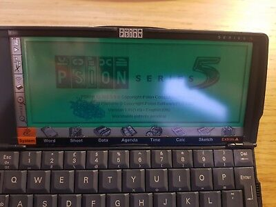 PSION 5MX PDA  with Original User Guide