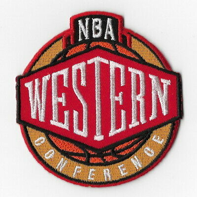 NBA National Basketball Association Western Iron on Patches Embroidered Patch