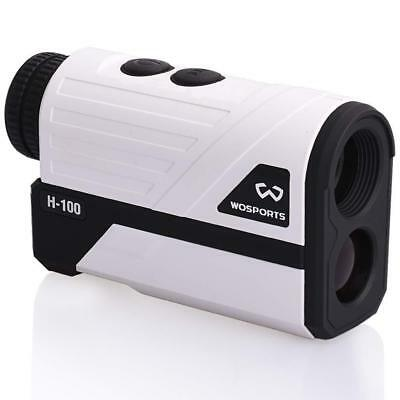 Wosports Golf Rangefinder H-100, 700 Yards Laser Range Finder with Slope, Flag-L