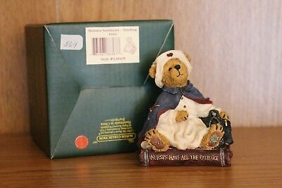 Boyds, Bearstone ~ FLORENCE GENTLECARE-TOUCHING LIVES, 228405~