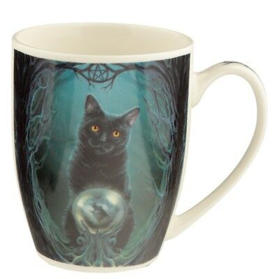 Rise of the Witches Mug by Lisa Parker - Gothic Wiccan Pagan Black Cat
