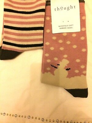 BNWT Bamboo Pink Snowman Soft Socks Girls Womens NEW