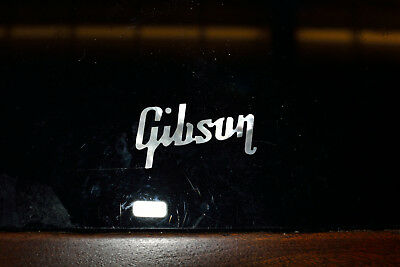 Gibson  headstock logo real pearl inlay Vintage correct 1959 Les Paul
