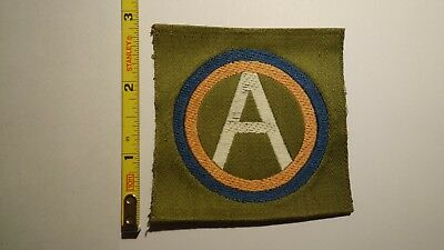 Extremely Rare WWI 3rd Army Liberty Loan Style Patch. RARE!