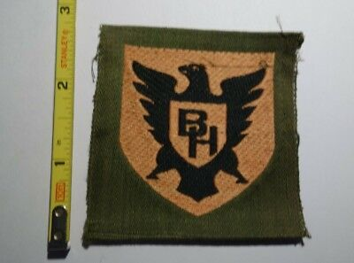 Extremely Rare WWI 86th Division Black Hawk Liberty Loan Style Patch!  RARE!!!