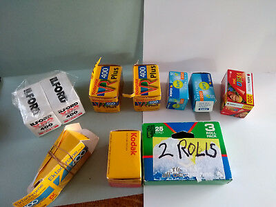 Job lot of old 35mm  and APS film
