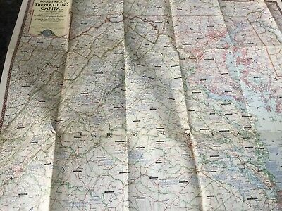 48 Vintage National Geographic Society MAPS 2 Book Folders 1940s 50s 60s Bonus