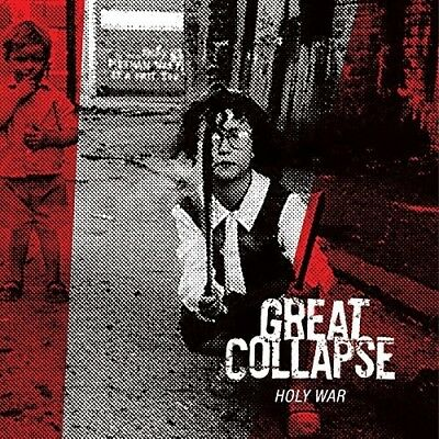 The Great Collapse - Holy War (Red)  Vinyl Lp New!