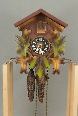 Small Black Forest Style Wall Hanging Cuckoo Clock