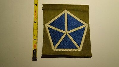 Extremely Rare WWI V CORPS  Liberty Loan Style Patch. RARE!