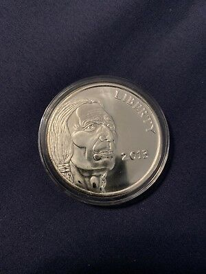 2013 INDIAN HEAD BUFFALO 1 oz .999 Silver round in capsule