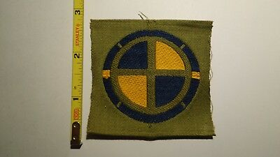 Extremely Rare WWI 35th Division Liberty Loan Style Patch. RARE!!!