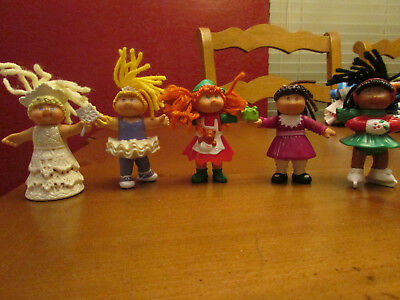 Mcdonald's Happy Meal Cabbage Patch figures X 5,1991-1994