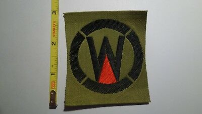 Extremely Rare WWI 89th Division (RED) Liberty Loan Style Patch. RARE!!!