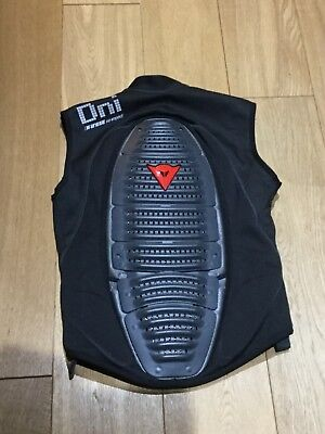 Dainese Back protector gillet, size m, euro 50 uk40