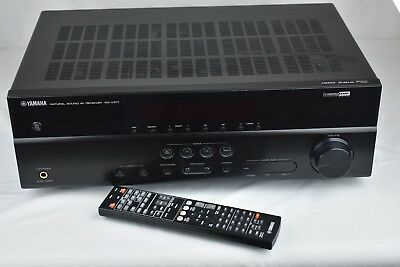 Yamaha Rx V371 51 Channel 100 Watt Receiver Black Av