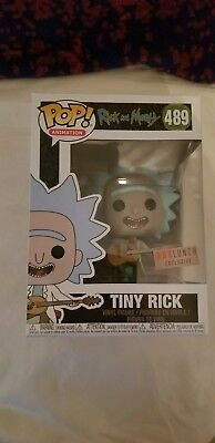 Tiny Rick Funko Pop Boxlunch Exclusive Rick And Morty Figure #489
