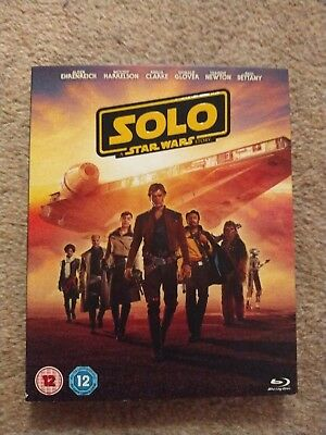 Solo A Star Wars Story Blu-ray Brand New Sealed Free Postage