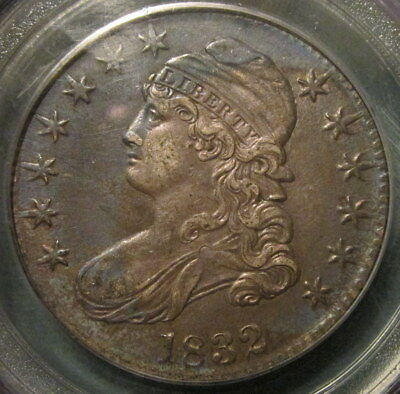 1832 O-118 Capped Bust Half Dollar, Pcgs Xf-45, Lowest Priced For Grade On Ebay!