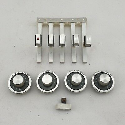 Revox A 77 Knobs / Wheels / Buttons incl. Power Switch