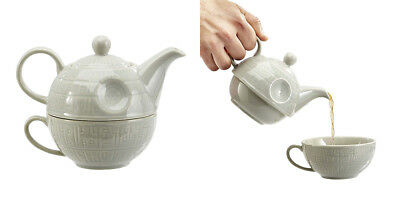 Officially Licensed Star Wars Death Star Teapot and mug