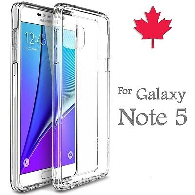 For Samsung Galaxy Note 5 Case - Clear Gel Ultra Thin Soft TPU Transparent Cover