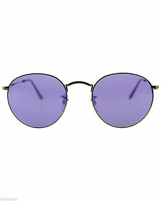 e3dd874646 New Authentic Ray-Ban Sunglasses RB 3447 50mm 167 1M Bronze Frame Violet  MIRROR