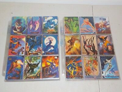 Marvel Masterpieces Complete Set Lot of 2 Sets w/ 1994, 1993 Very Nice!