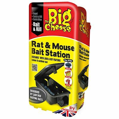 STV International The Big Cheese Rat And Mouse Bait Station (Assorted (VP4529)