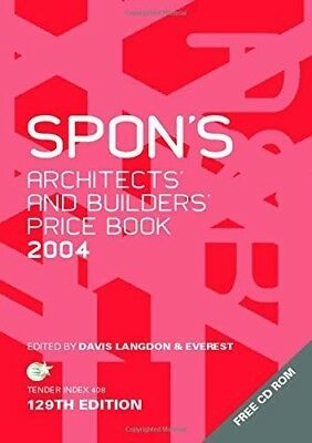 Spon's Architect's and Builders' Price Book 2004 (P D F)