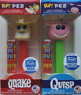 Funko POP! Pez Cereal Quake & Quisp - Limited Editions - Funko Shop Exclusives