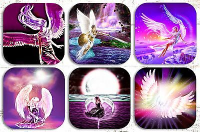 Angels Drink Coasters X 6 Non Fade
