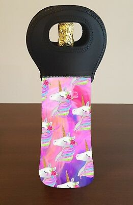 Unicorn Wine Bottle Cooler Carry Bag