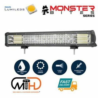 New 20 Inch Philips Led Light Bar Driving Lamp Truck 4Wd Suv | Free Fast Postage