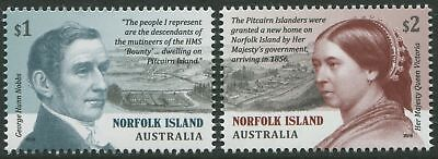 Pitcairn Settlement@norfolk 2019 Gh Nobbs & Queen Victoria Mnh