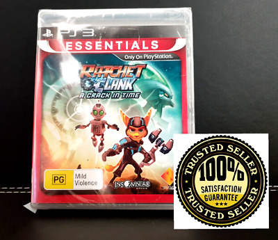 Ratchet & Clank A Crack in Time NEW & Sealed - PS3 - PlayStation 3 Game