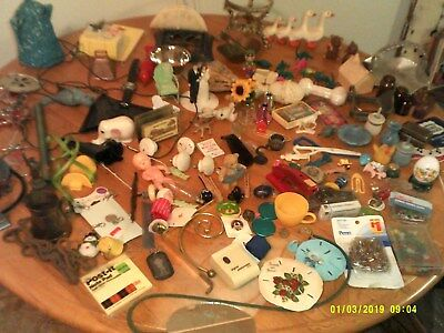 Junk Drawer Lot Estate Finds Craft Projects Useful Items