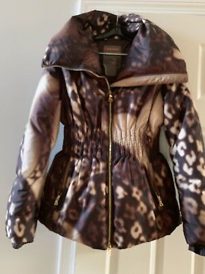 Authentic Gianni Versace Silk Barocco Leather Trim Bomber Jacket