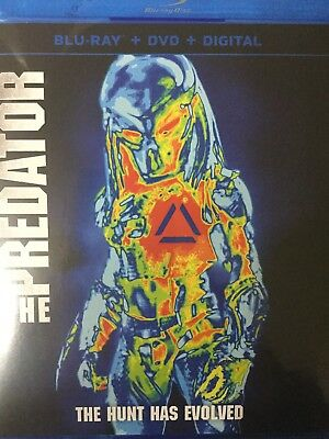 THE PREDATOR 2018 BLU-RAY Disc And Case No Dvd And No Digital
