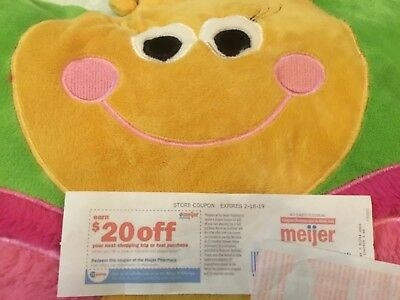 (1) $20.00 off your next shopping trip or fuel purchase at Meijer Pharmacy+ more